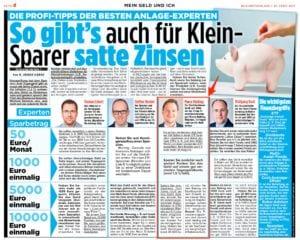 Geld Interview Bild Zeitung