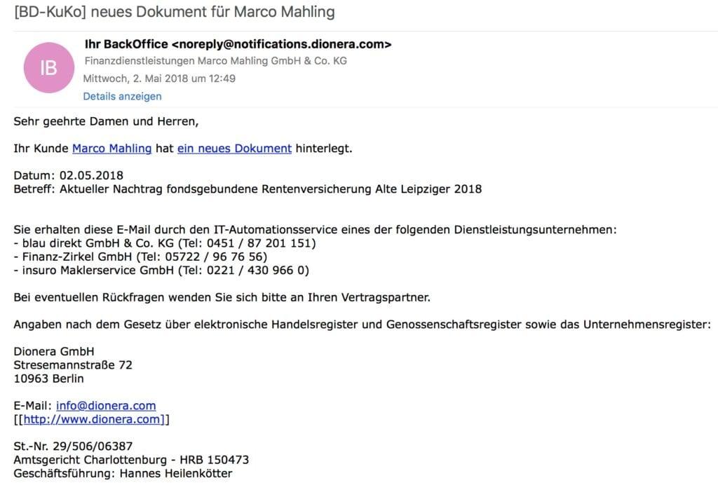 simplr Web E-Mail